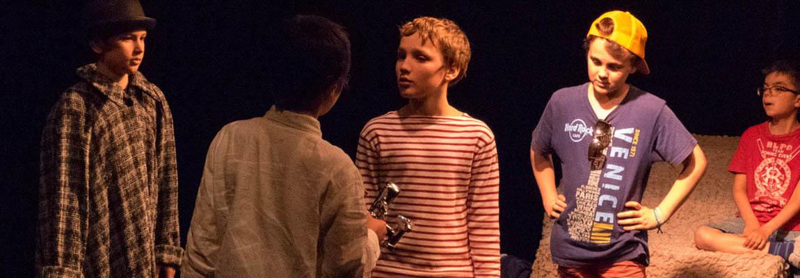 Stages de théâtre : Juillet – Août