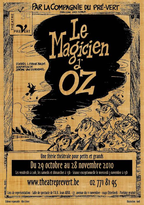 Affiche Magicien d'Oz